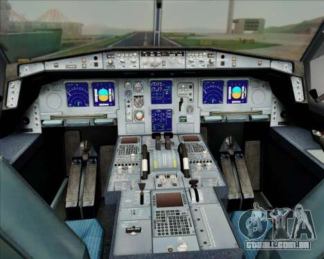 Airbus A330-300 Air Inter para as rodas de GTA San Andreas