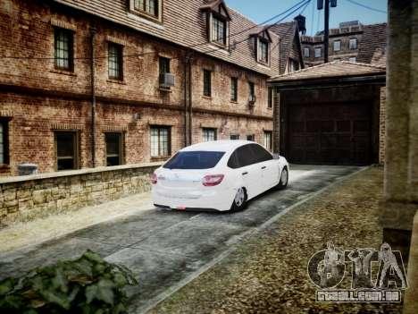 Lada Granta Liftback para GTA 4 vista direita
