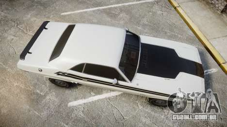 Dodge Challenger 1971 v2.2 PJ1 para GTA 4 vista direita