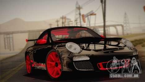 Porsche 911 GT3RSR para GTA San Andreas traseira esquerda vista