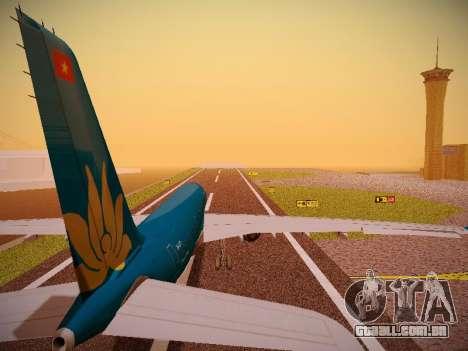 Airbus A330-200 Vietnam Airlines para GTA San Andreas