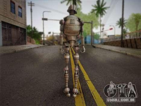 Kraang Robot para GTA San Andreas segunda tela