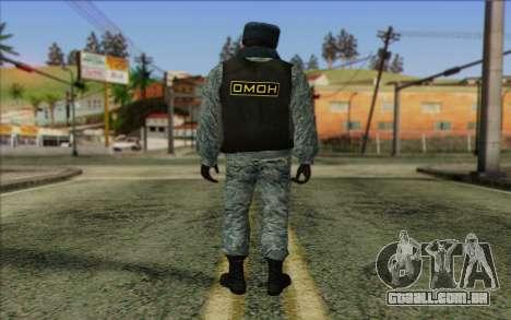 A polícia da Rússia Pele 5 para GTA San Andreas segunda tela