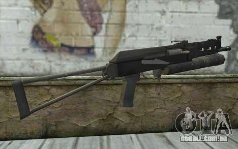 PP-19 Bizon (Battlefield 2) para GTA San Andreas segunda tela