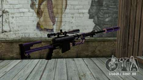 PurpleX Sniper Rifle para GTA San Andreas segunda tela