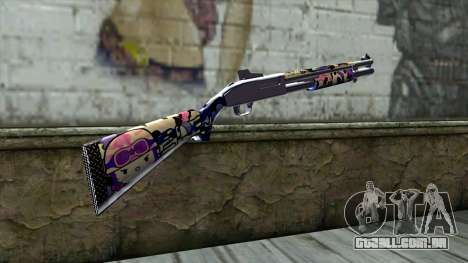Graffiti Shotgun v3 para GTA San Andreas segunda tela