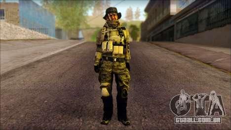 Recon from BF4 para GTA San Andreas