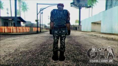 Manhunt Ped 20 para GTA San Andreas segunda tela