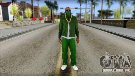 New CJ v3 para GTA San Andreas