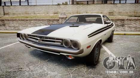 Dodge Challenger 1971 v2.2 PJ1 para GTA 4