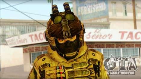 Soldados da UE (AVA) v2 para GTA San Andreas terceira tela