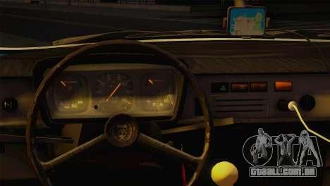 Dacia 1310 TX para GTA San Andreas traseira esquerda vista