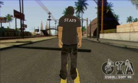 Transeunte (PESSOAL) para GTA San Andreas segunda tela