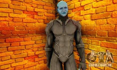 Skin Electro From The Amazing Spider Man 2 para GTA San Andreas por diante tela