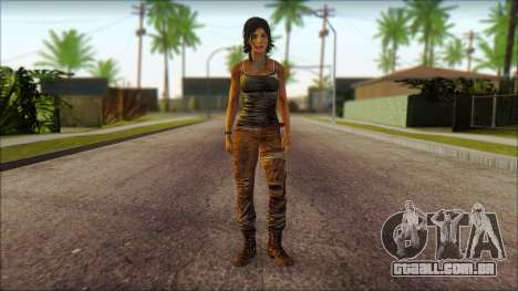 Tomb Raider Skin 8 2013 para GTA San Andreas