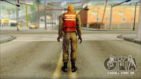 Guarda costeira (Frio Medo) para GTA San Andreas segunda tela