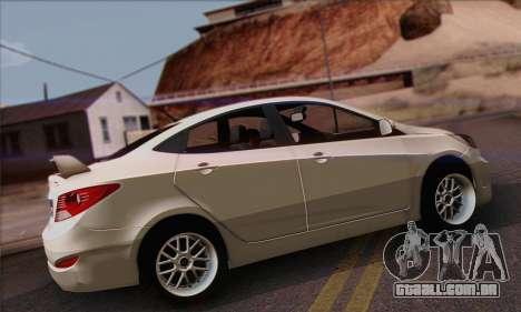 Hyundai Club para GTA San Andreas esquerda vista