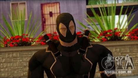 Xmen Alt Deadpool The Game Cable para GTA San Andreas terceira tela