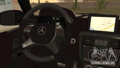 Brabus B65 v1.0 para GTA San Andreas traseira esquerda vista
