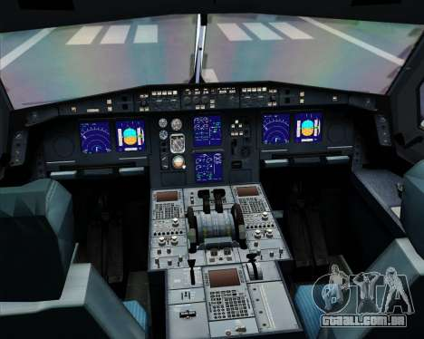 Airbus A330-300 Dragonair (20th Year Livery) para GTA San Andreas interior