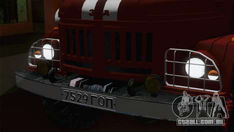 ZIL 131 - AC para GTA San Andreas vista traseira
