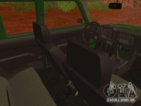 VAZ-2129 Niva 4x4 para GTA San Andreas vista direita