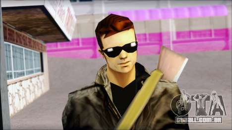 Shades and Gun Claude v1 para GTA San Andreas terceira tela