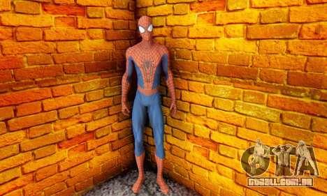 The Amazing Spider Man 2 Oficial Skin para GTA San Andreas por diante tela