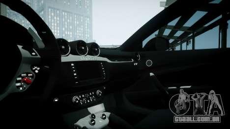 Ferrari FF para GTA 4 vista de volta