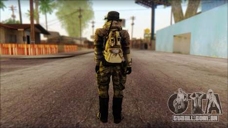 Recon from BF4 para GTA San Andreas segunda tela