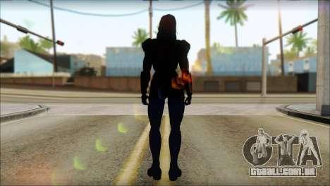Mass Effect Anna Skin v2 para GTA San Andreas segunda tela