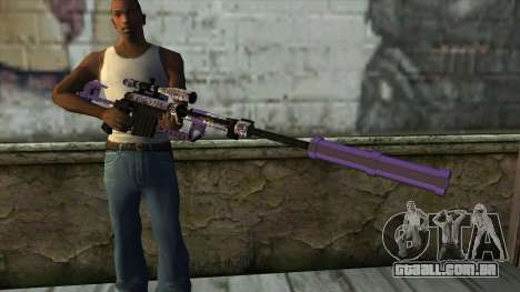 PurpleX Sniper Rifle para GTA San Andreas terceira tela