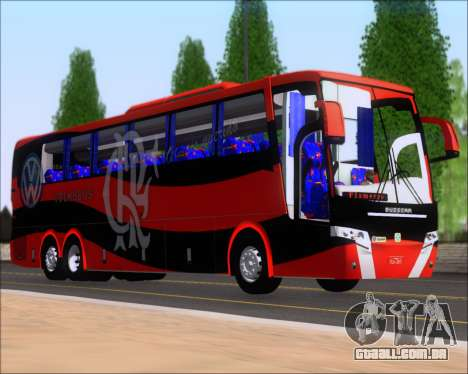Busscar Elegance 360 C.R.F Flamengo para GTA San Andreas esquerda vista