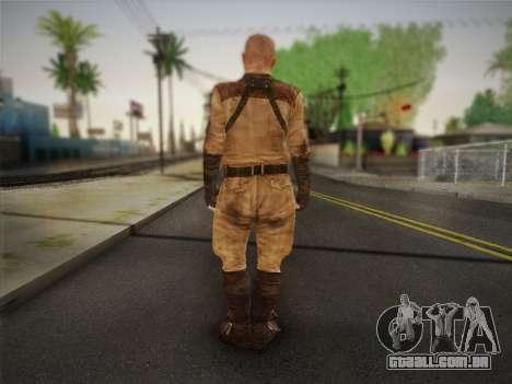 Paulo (Metro Last Light) para GTA San Andreas segunda tela
