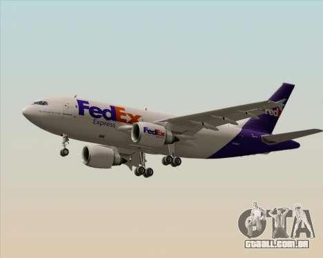 Airbus A310-300 Federal Express para as rodas de GTA San Andreas