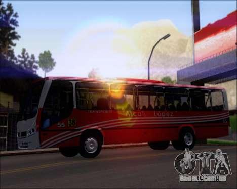 Neobus Spectrum Linea 38 Mcal. Lopez para o motor de GTA San Andreas