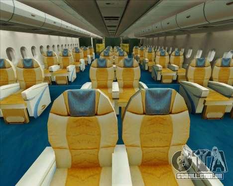 Airbus A380-841 Emirates para o motor de GTA San Andreas