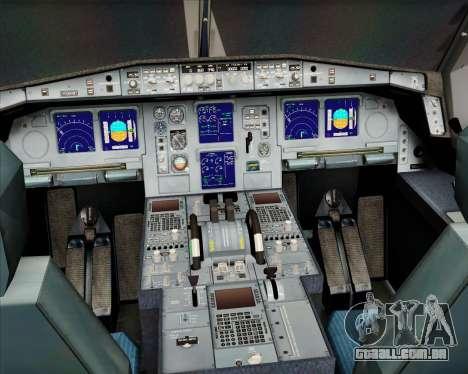 Airbus A330-300 Olympic Airlines para GTA San Andreas interior