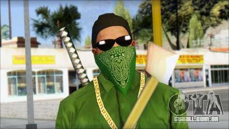 New CJ v6 para GTA San Andreas terceira tela