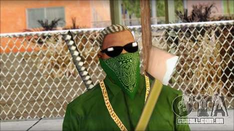 New CJ v5 para GTA San Andreas terceira tela
