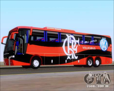 Busscar Elegance 360 C.R.F Flamengo para as rodas de GTA San Andreas