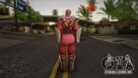 Foot Soldier Elite v1 para GTA San Andreas segunda tela