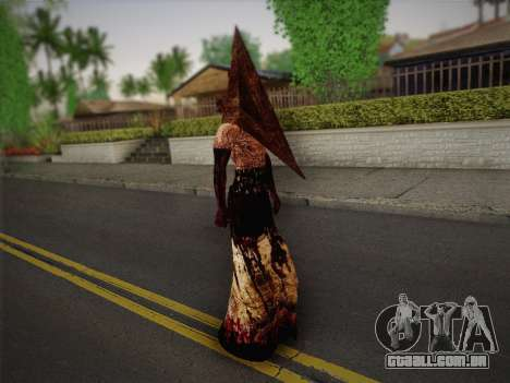 Pyramid Head From Silent Hill: Homecoming para GTA San Andreas terceira tela