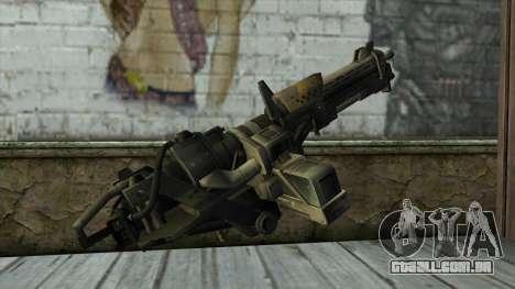 M247 Machine Gun Jorge Of Halo Reach para GTA San Andreas segunda tela