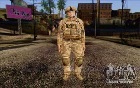 Soldados britânicos (ArmA II: BAF) v2 para GTA San Andreas