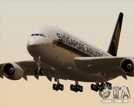 Airbus A380-841 Singapore Airlines para GTA San Andreas