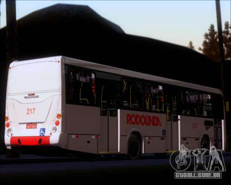 Marcopolo Torino G7 2007 - Volksbus 17-230 EOD para GTA San Andreas vista inferior