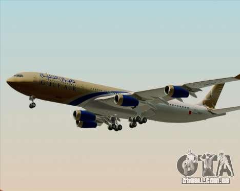 Airbus A340-313 Gulf Air para o motor de GTA San Andreas