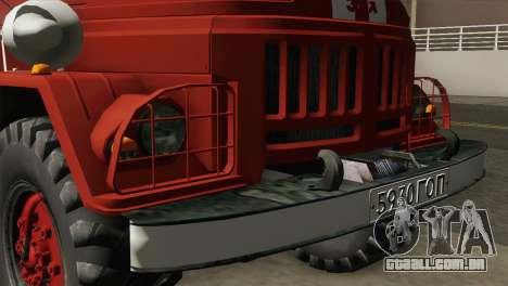 ZIL 131 - AL para GTA San Andreas vista traseira