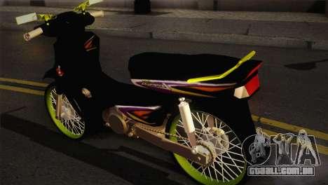 Honda Astrea para GTA San Andreas esquerda vista